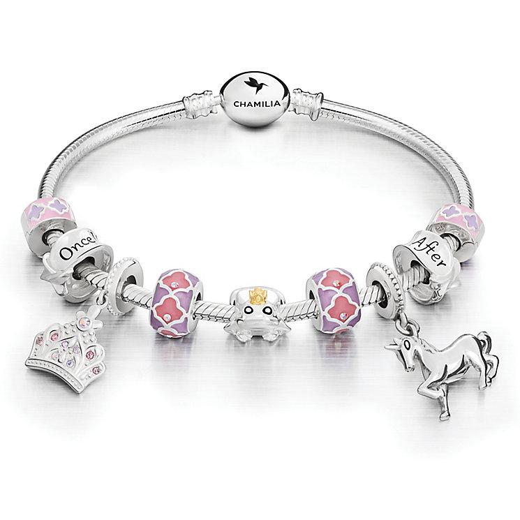 chamilia sterling silver tale bracelet charms set