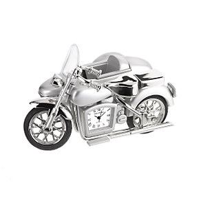 Miniature Motorbike And Sidecar Clock - Product number 5829828