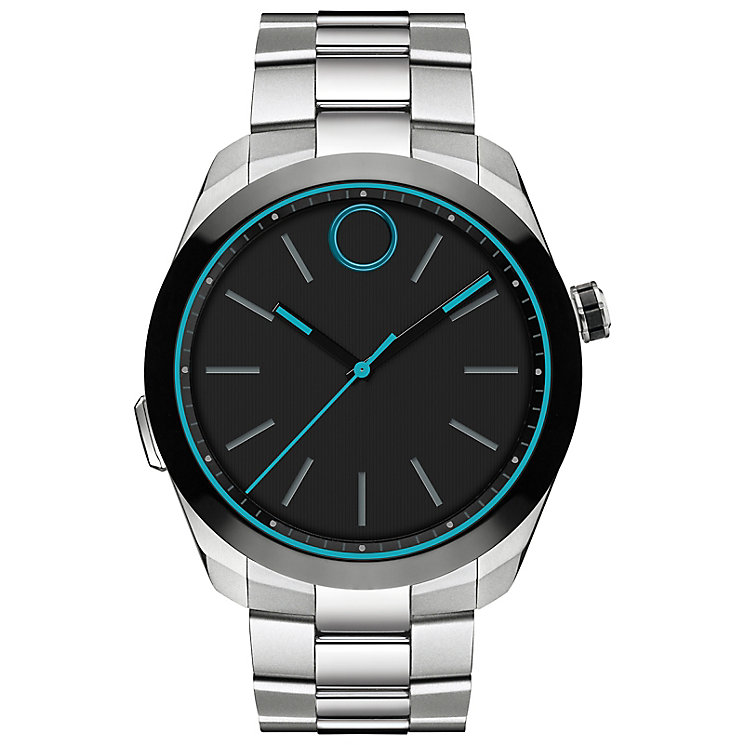Movado Bold Motion Men's Stainless Steel Bracelet Watch - Product number 5832225