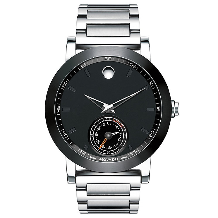 Movado Museum Sport Motion Men's Stainless Steel Watch - Product number 5832241