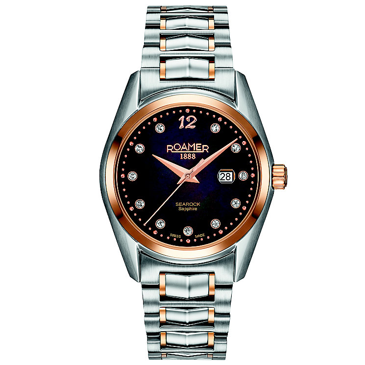 Roamer Searock Ladies' 2 Colour Steel Bracelet Watch - Product number 5836174