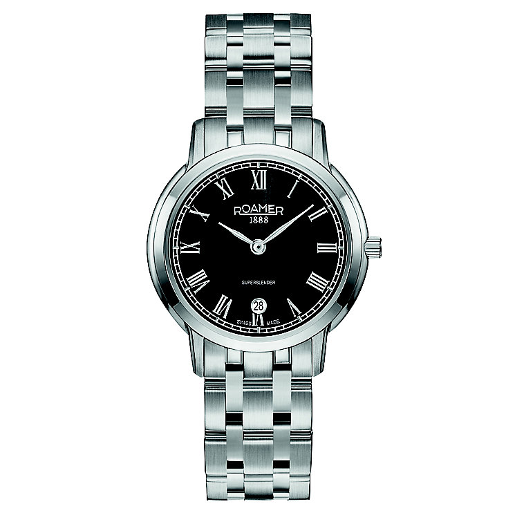 Roamer Super Slender Ladies' Stainless Steel Bracelet Watch - Product number 5836190