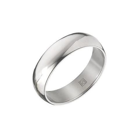 Palladium super heavy 6mm court wedding ring