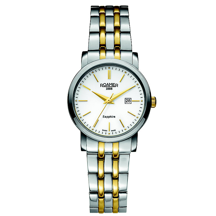 Roamer Ladies' 2 Colour Stainless Steel Bracelet Watch - Product number 5837227