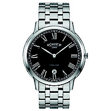 Roamer Super Slender Men's Stainless Steel Bracelet Watch - Product number 5837383