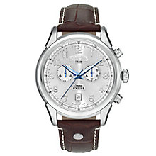 Roamer Soleure Men's Brown Leather Strap Watch - Product number 5837405