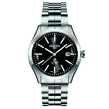 Roamer Men's Black Dial Stainless Steel Bracelet Watch - Product number 5837480