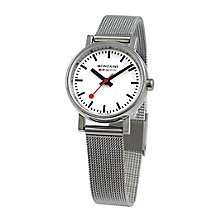 Mondaine Ladies' Stainless Steel Mesh Bracelet Watch - Product number 5837553