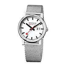 Mondaine Men's Stainless Steel Mesh Bracelet Watch - Product number 5837723