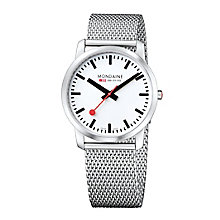 Mondaine Men's Stainless Steel Mesh Bracelet Watch - Product number 5837774