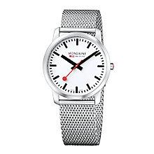 Mondaine Men's Stainless Steel Mesh Bracelet Watch - Product number 5837774