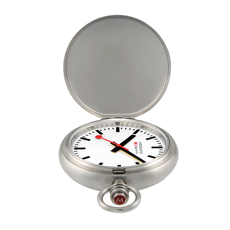 Mondaine Men's Stainless Steel Pocket Watch - Product number 5837855