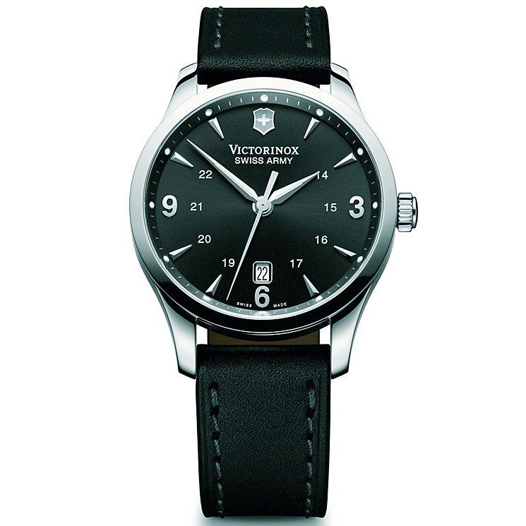 Victorinox Alliance Mechanical Men's Black Strap Watch - Product number 5838118