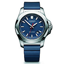 Victorinox I.N.O.X. Men's Blue Rubber Strap Watch - Product number 5838290