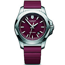 Victorinox I.N.O.X. Men's Red Rubber Strap Watch - Product number 5838355
