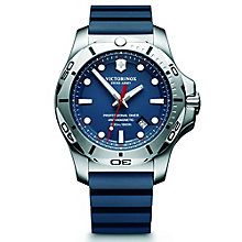 Victorinox Professional Diver Men's Blue Rubber Strap Watch - Product number 5838428