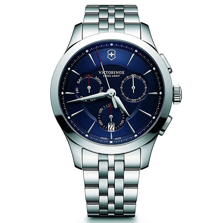Victorinox Alliance Chronograph Men's Steel Bracelet Watch - Product number 5838495