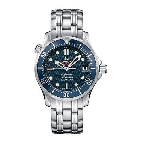 Omega Seamaster men's chronometer watch