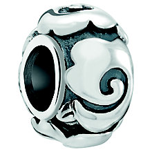 Chamilia Sterling Silver Art Deco Rose Spacer Bead - Product number 5845386