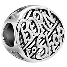 Chamilia Sterling Silver Born To Shop Bead - Product number 5845432