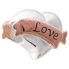Chamilia Rose Gold Plated Love Banner Bead - Product number 5845629