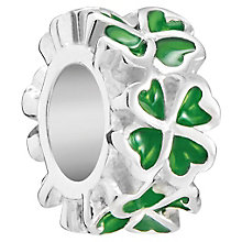 Chamilia Sterling Silver Petite Clover Bead - Product number 5845807