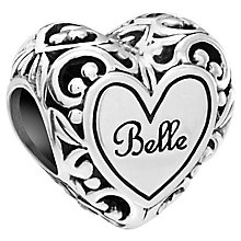 Chamilia Disney Beauty and the Beast Belle's Heart Bead - Product number 5845858