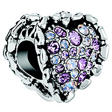 Chamilia Ruffled Heart Bead - Product number 5845920