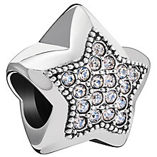 Chamilia Sterling Silver Fabulous Swarovski Star Bead - Product number 5845939