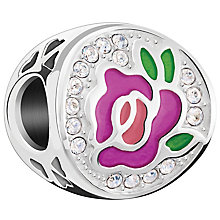 Chamilia Sterling Silver Swarovski Perfect Rose Bead - Product number 5846145