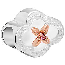 Chamilia Silver Rose Gold-Plated Swarovski Nana Bead - Product number 5846153