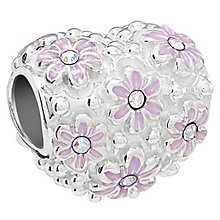 Chamilia Sterling Silver Love Bloomed Bead - Product number 5854024