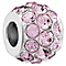Chamilia Sterling Silver Splendor Amethyst Swarovski Bead - Product number 5854059