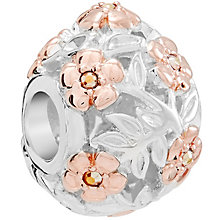 Chamilia Sterling Silver Filigree Easter Egg Bead - Product number 5854180