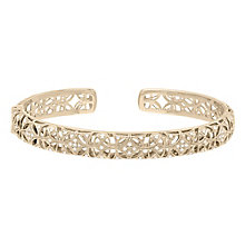 Neil Lane 14ct Yellow Gold 0.31ct Diamond Bangle - Product number 5854989