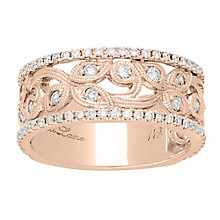 Neil Lane Designs 14ct Rose gold 0.67ct diamond band - Product number 5855616