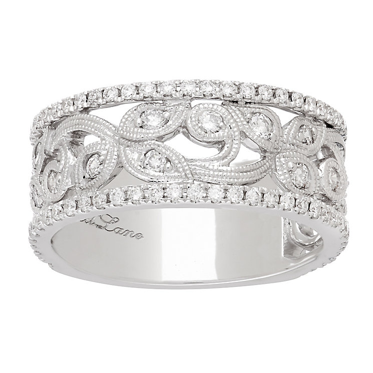 Neil Lane Designs platinum 0.67ct diamond band - Product number 5855748
