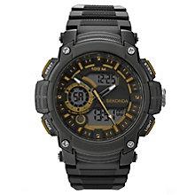 Sekonda Men's Chronograph Black Resin Watch - Product number 5865824
