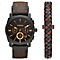 Fossil Gent's Brown Leather Strap Watch - Product number 5866014