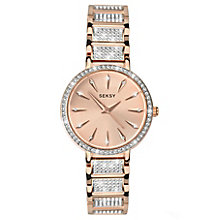 Sekonda Seksy Ladies' Rose Gold-Plated Bracelet Watch - Product number 5866049