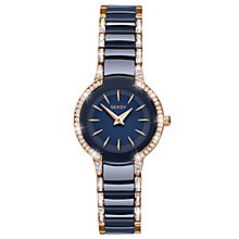 Sekonda Seksy Ladies' Rose & Blue Ceramic Bracelet Watch - Product number 5866103