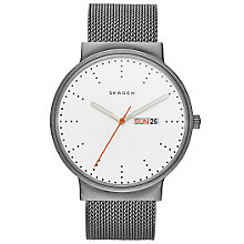 Skagen Gent's Stainless Steel Mesh Strap Watch - Product number 5866170
