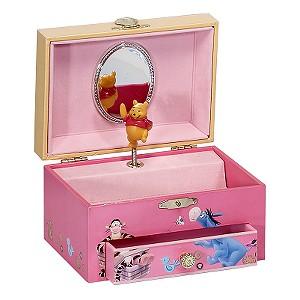 Disney Winnie the Pooh Musical Jewellery Box