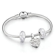 Chamila Sterling Silver Caged Heart Gift Set - Product number 5868629