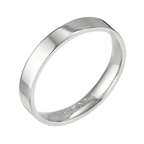 Platinum flat extra heavy weight ring 3mm - Product number 5875714