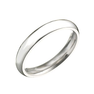Palladium Super Heavy Weight Wedding 3mm Ring