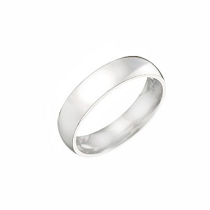 Palladium Super Heavy Weight Wedding 5mm Ring