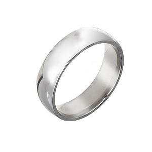 Palladium Super Heavy Weight Wedding 6mm Ring