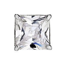 9ct White Gold Cubic Zirconia Stud Earring - Product number 5908949