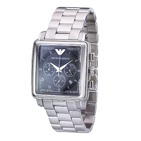 Emporio Armani men's stainless steel bracelet watch
